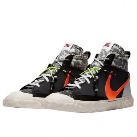 Nike Blazer Mid READYMADE Black--0000000828-Limited Resell