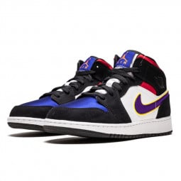 Air Jordan 1 Mid Lakers Top 3--0000000834-Limited Resell