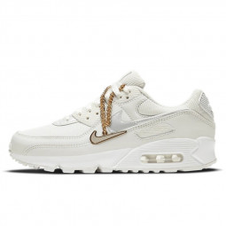 Air Max 90 Gold Chain Summit White--DC1161-100-Limited Resell
