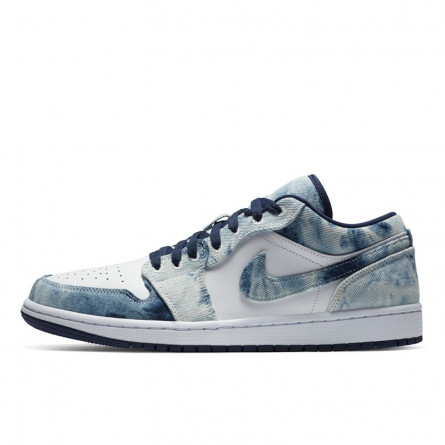 Air Jordan 1 Low Washed Denim--CZ8455-100-Limited Resell