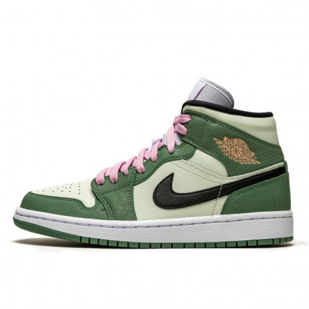 Air Jordan 1 Mid Dutch Green--CZ0774-300-Limited Resell