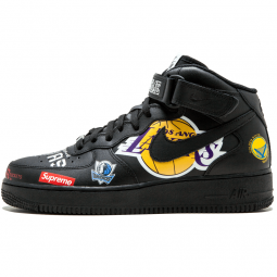 Air Force 1 NBA Supreme Black