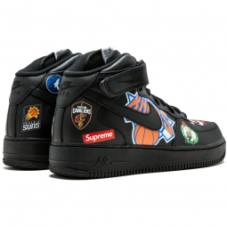 Air Force 1 NBA Supreme Black--Limited Resell