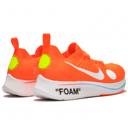 Off White Zoom Fly Mercurial Orange